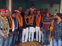 अमित दुबे बने सपा युवजन सभा के जिला उपाध्यक्ष , समर्थकों ने किया फूल मालाओं से स्वागत