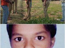 मारा गया 14 साल का मासूम रोहित और घटनास्थल पर सूत्र तलाश करती पुलिस