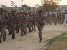 एएसपी सुरेश चंद ने पुलिस कर्मियों का किया स्टेमिना टेस्ट व अर्धवार्षिक निरीक्षण